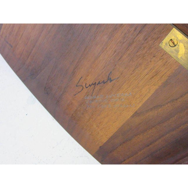 George Suyeoka Studio Chair Prototype in the Style of George Nakashima For Sale In Cincinnati - Image 6 of 7