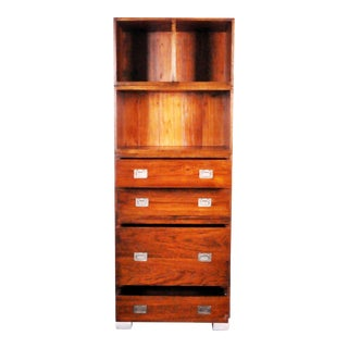 GT Atelier Campaign Style Cabinet For Sale