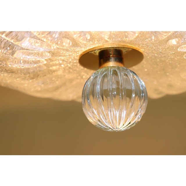 Vintage Mid-Century Modern Murano Glass Pendant Lamp For Sale - Image 12 of 13