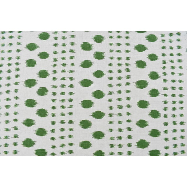 Virginia Kraft Polkat Fabric, 3 Yards in Forest For Sale - Image 4 of 4