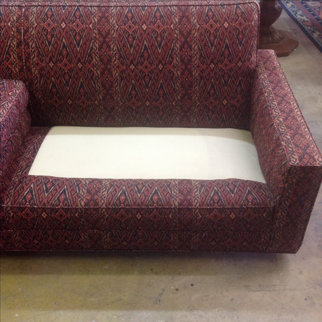 1960's Bohemian Sofa, Reupholstered - Image 5 of 8