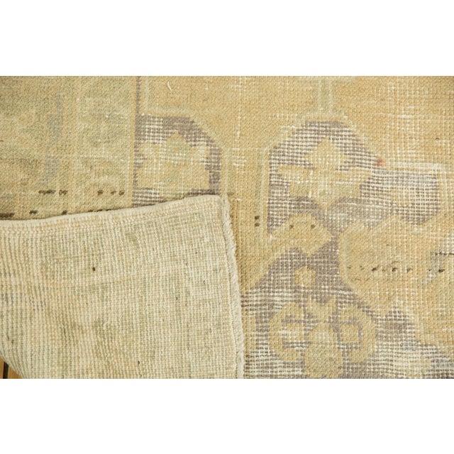 "Vintage Distressed Oushak Carpet - 5'6"" X 9'1"" For Sale - Image 11 of 13"