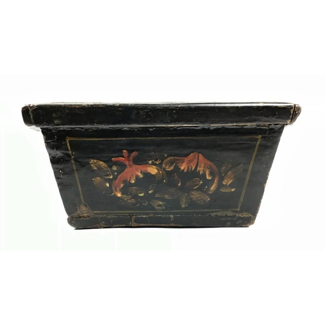 1900s Chinese Wood Painted Planter Box For Sale In Boston - Image 6 of 10