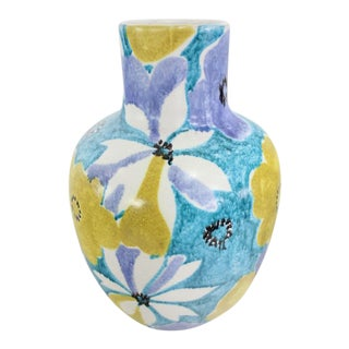 Ceramic Vase by Alvino Bagni / Raymor For Sale