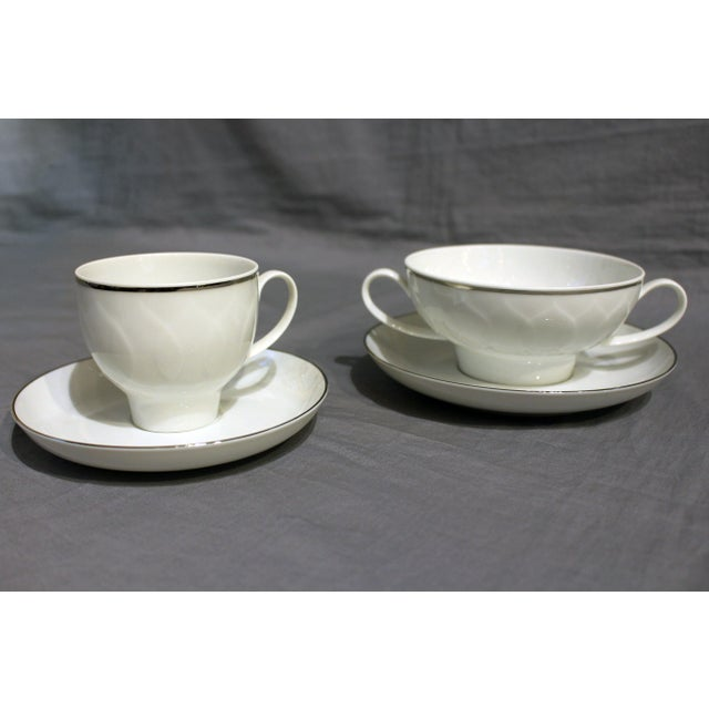 White 1970s Rosenthal Studio-Line China Service - Set of 98 For Sale - Image 8 of 10