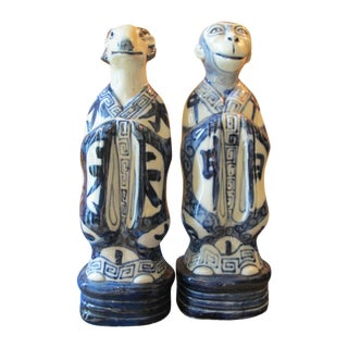 Vintage Chinese Zodiac Figurines