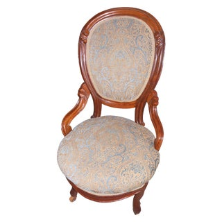 Victorian Style Slipper Chair