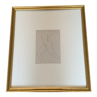 Contemporary Nude Figure After Rip Matteson Print For Sale