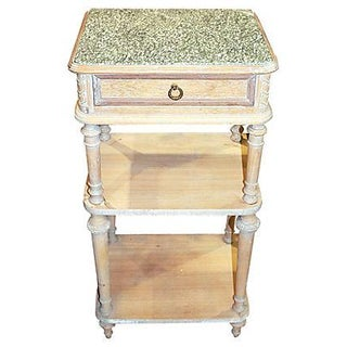 Antique French 19th C. Louis XVI-Style Side Table For Sale