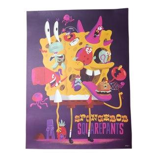 "Christopher Lee ""Spongebob Squarepants"" Tribute Promotional Nickelodeon Poster"