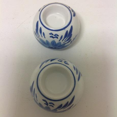Chinoiserie Blue & White Vase Collection - 4 Pc. - Image 4 of 8