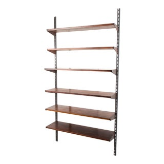 Danish Rosewood Fm Shelving System by Kai Kristiansen, 1960s For Sale