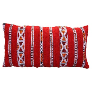 Stripes & X Design Berber Pillow For Sale