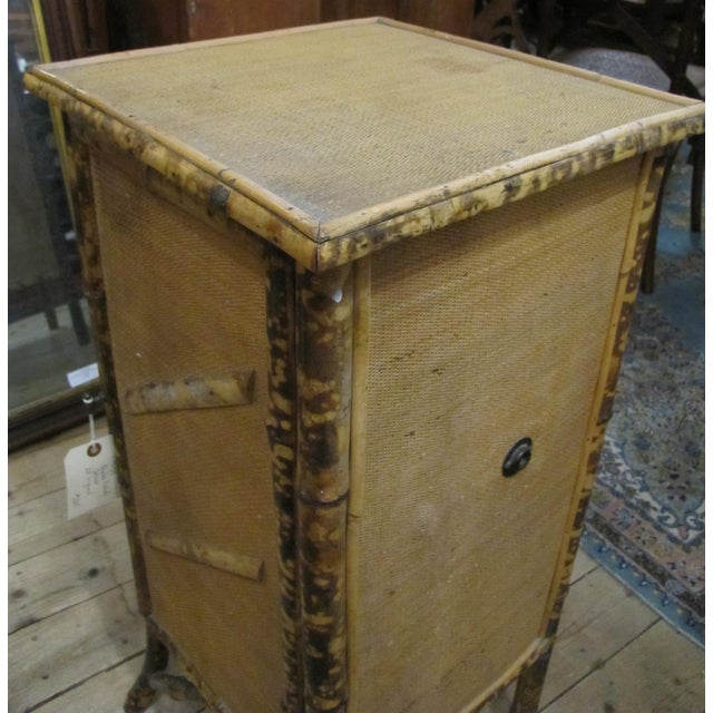 Chinese 1920s Chinese Bamboo Cabinet For Sale - Image 3 of 6