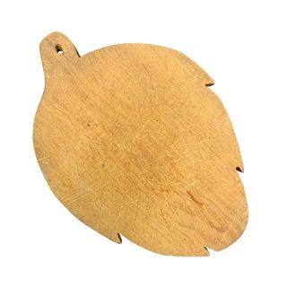 Early 20th Century Artichoke Shape Cutting Board For Sale