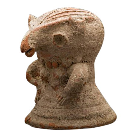 Terracotta Figurine of a Standing Woman For Sale