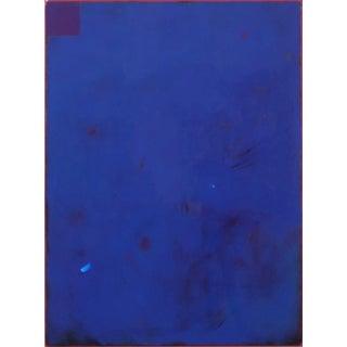 "Contemporary ""Sunday Blue"" Original Artwork by Ricky Hunt For Sale"