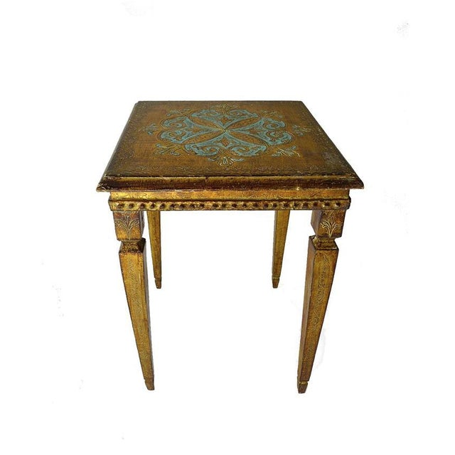 Vintage French Side Table - Image 1 of 2