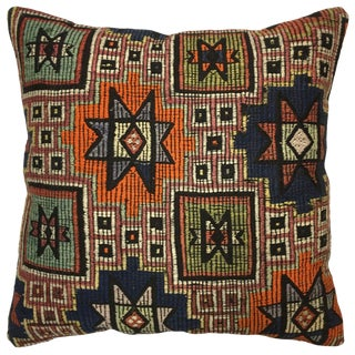 "Rug & Relic Stripe Kilim Pillow   24"" For Sale"