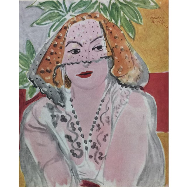 Gorgeous portfolio of lithographic prints by Matisse, printed in 1943 in Paris by Editions du Chêne, fine printers of...