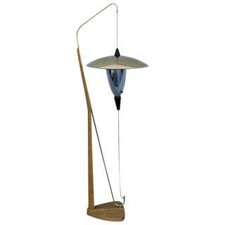 1950s Arthur F. Jacobs Adjustable Floor Lamp For Sale