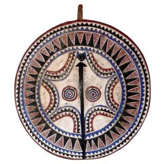African Ivory Coast Moon Mask