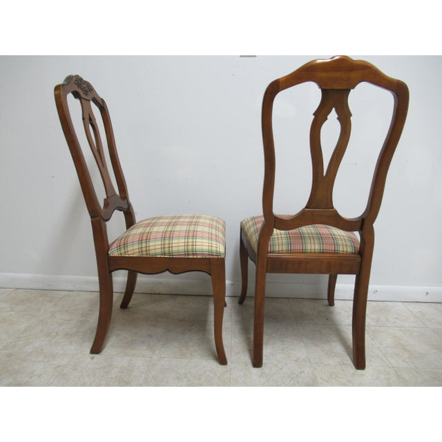 Modern Ethan Allen Country French Dining Room Side Chairs- A Pair For Sale - Image 9 of 13