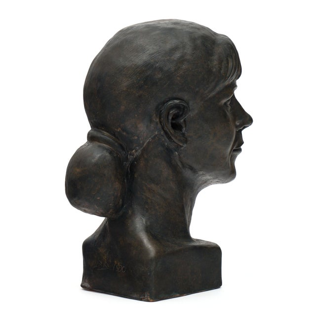 French French Terracotta Bust For Sale - Image 3 of 10