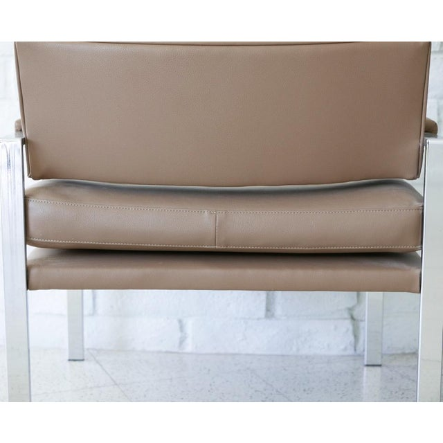 1970s Milo Baughman for Thayer Coggin Lounge Chairs - Pair For Sale - Image 5 of 7
