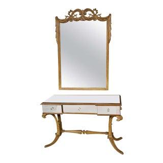 Grosfeld House Flu de Plume Vanity & Mirror - A Pair