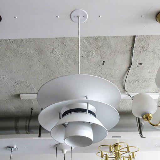 """Mid-Century Modern Poul Henningsen """"PH Charlottenborg"""" Pendant For Sale - Image 3 of 10"""