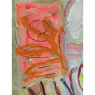 Abstract Expressionist Whimsical Painting on Canvas Preview