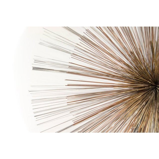 Late 20th Century Curtis Jere for Artisan House Sunburst Sculpture, Signed Cj 1979 For Sale - Image 5 of 9