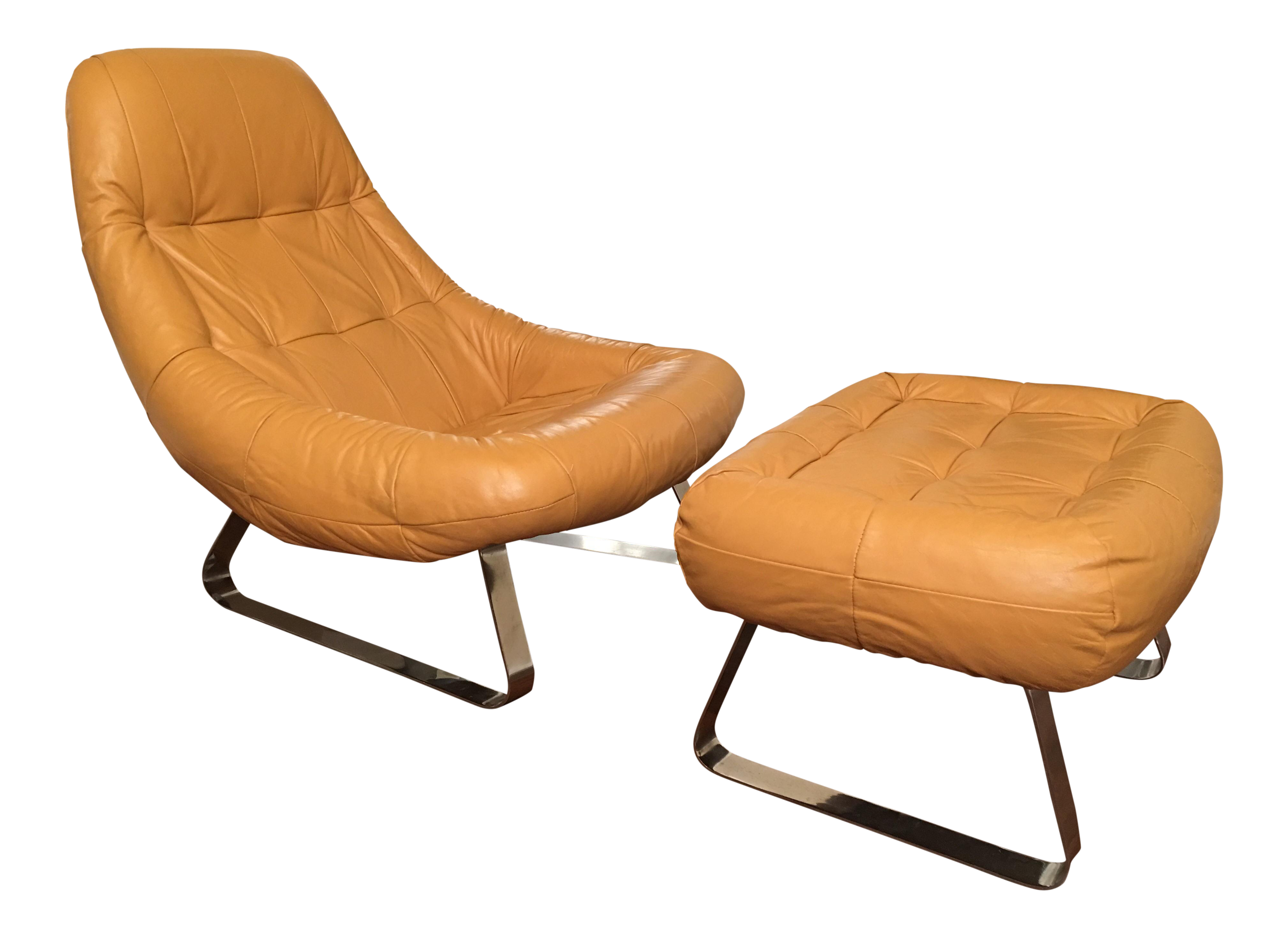 Charmant Percival Lafer Earth Chair U0026 Ottoman Mid Century Modern For Sale