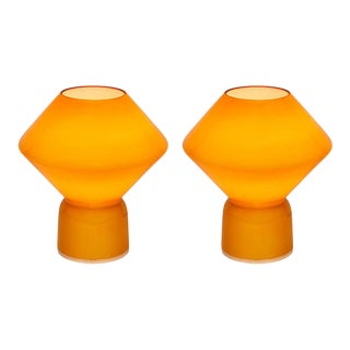 1980s Memphis Style 'Conica' Table Lamps for Artemide - a Pair For Sale