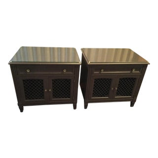 Vintage Kindel French Country Nightstands - a Pair