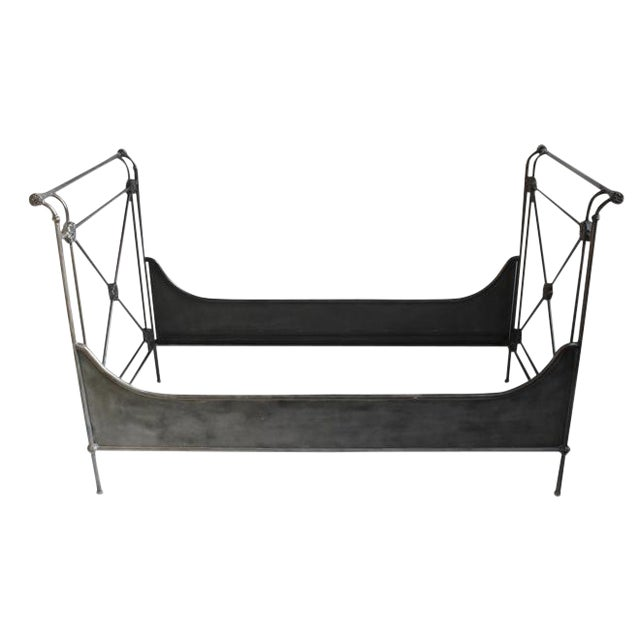 Blackened Iron Daybed For Sale