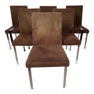 Vintage Modern Set of Six Chairs For Sale