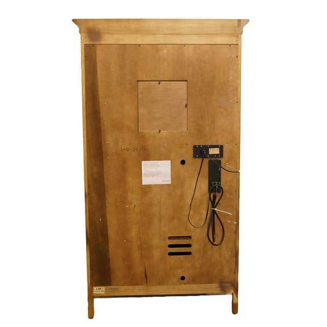 20th Century Traditional Henredon Furniture Media Armoire Cabinet For Sale - Image 9 of 10