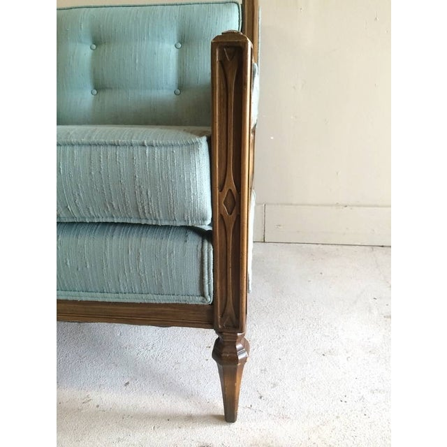 Mid-Century Hollywood Regency Style Arm Chair - Image 5 of 6