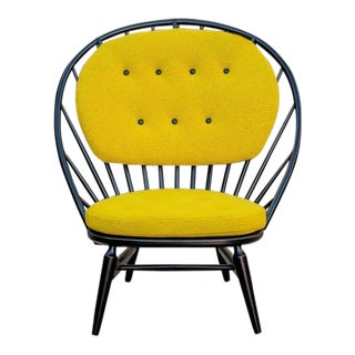 Engstrom & Myrstrand Vintage 1953 Peacock Lounge Chair For Sale