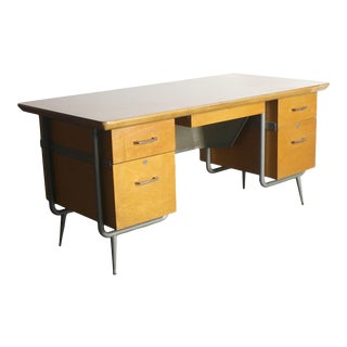 Raymond Loewy Executive Desk for Brunswick For Sale