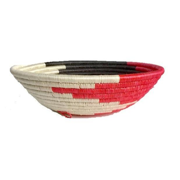 African Woven Basket - Image 5 of 8