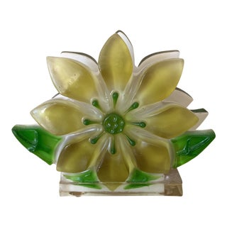 1970s Flower Napkin or Letter Holder For Sale