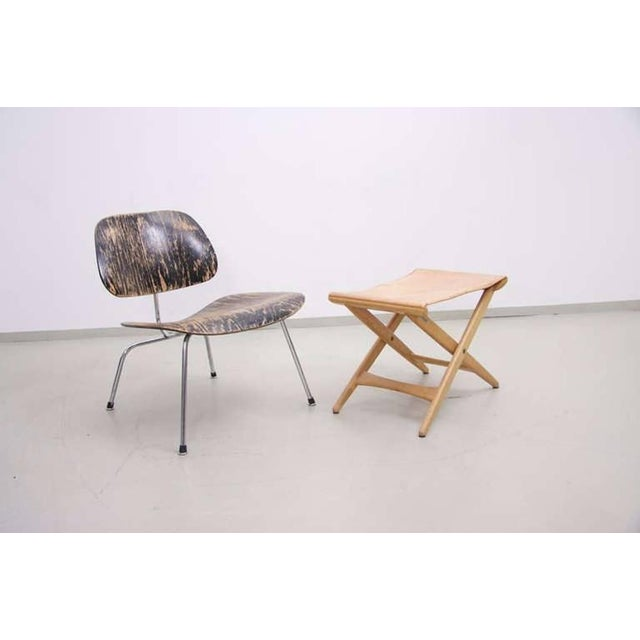 Folding Stool by Des. Uno and Östen Kristiansson for Luxus Vittsjö For Sale - Image 6 of 6