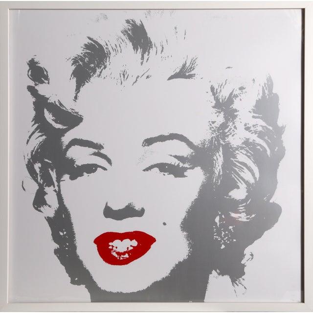 Warhol Marilyn Monroe, Sunday B Morning Framed Serigraph | Chairish
