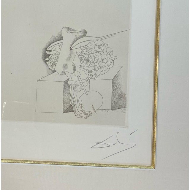 Pair of Salvador Dali (Les Chants De Maldoror) For Sale In New York - Image 6 of 9