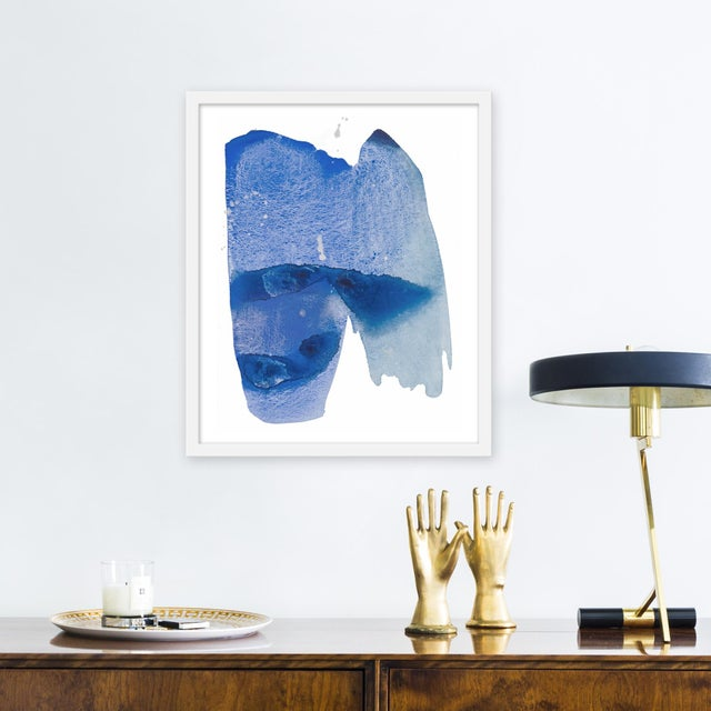 Giclée on textured fine art paper with white frame. Unframed print dimensions: 18.75 x 22.75. Largely influenced by her...