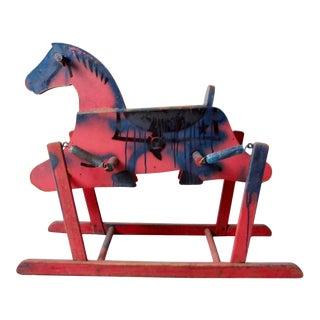 Vintage Spring Rocking Horse Toy For Sale