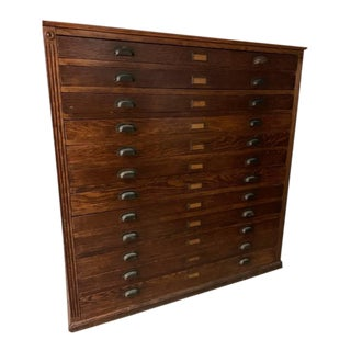19th Century Early American Clerical Vestment Chest For Sale